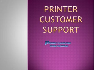 Cannon Printer support