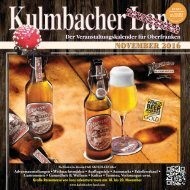 2016/11 Kulmbacher Land