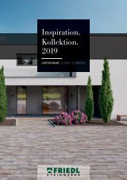 Friedl Inspiration katalog 2019