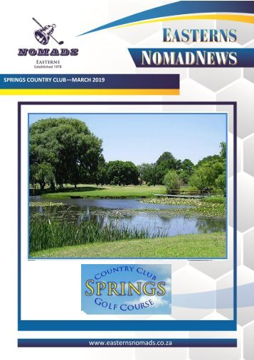 Nomads Magazine - Springs March 2019