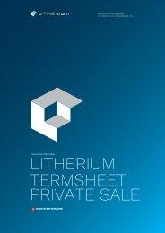 Litherium-Termsheet-2019-03