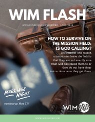 WIM Flash Magazine April 2019