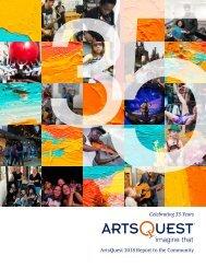 ArtsQuest 2018 Report to the Community