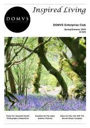 DOMVS Enterprise Club Inspired Living - Issue 5 - Spring Summer 2019