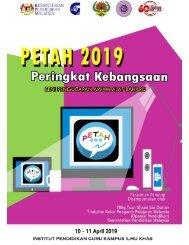 Buku Program PETAH 2019