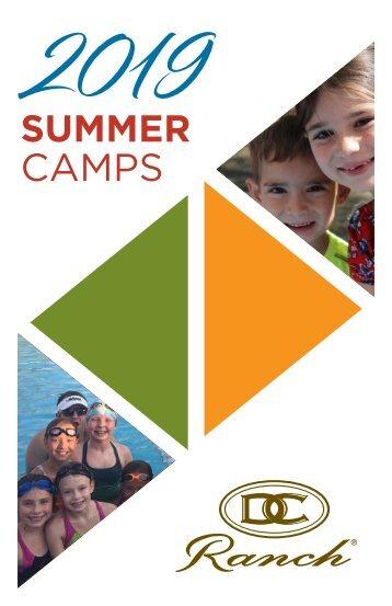 2019 Summer Camp Brochure