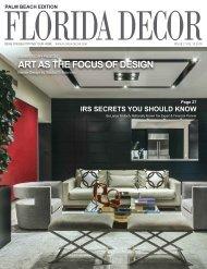 FLORIDA DECOR MAGAZINE April2019 PALM BEACH