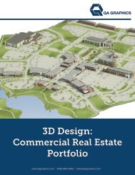 QA Graphics Commercial Real Estate Portfolio