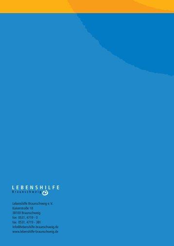 Arbeitsgemeinschaft Lebenshilfen - Lebenshilfe Braunschweig