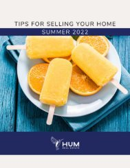 Things to Consider When Selling Your Home