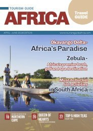 Tourism Guide Africa Magazine April - June 2019 Edition