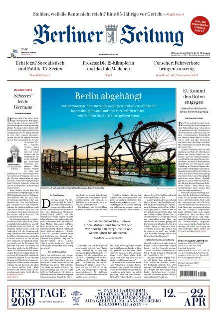 Berliner Zeitung 10042019
