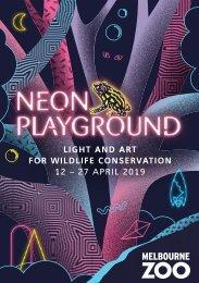 Neon Playground 2019 Program