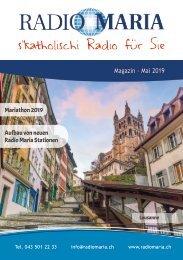 Radio Maria Magazin - Mai 2019