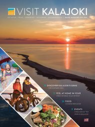 Visit Kalajoki -travel magazine EN