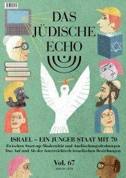 Das Jüdische Echo 2018 - Vol. 67 / Israel – ein junger Staat mit 70