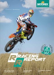 MOTOREX Racing Report 2014 EN