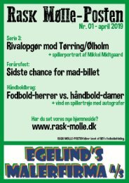 Rask Mølle-Posten - April 2019