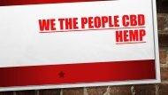 We The People CBD Hemp SP