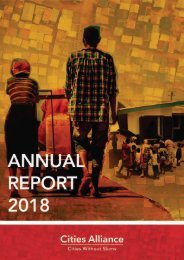 Cities Alliance Annual Report 2018