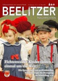 Beelitzer Nachrichten - März 2019