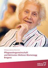Pflegewohngemeinschaft und Betreutes Wohnen Blumenegg Bregenz