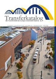 Transferkatalog der Europa-Universität Viadrina