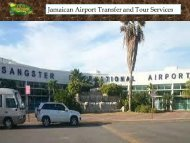 Jamaican Airport Transfer and Tour Services