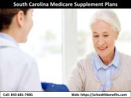 South Carolina Medicare Supplement Plans