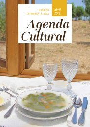Agenda Cultural de Proença-a-Nova - Abril de 2019