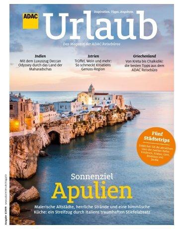 ADAC Urlaub Mai-Ausgabe 2019 Überregional