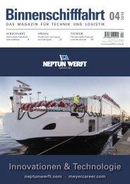 Binnenschifffahrt April 2019 – Online-Vorschau