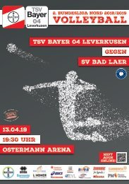 Spieltagsnews Nr. 11 gegen SV Bad Laer