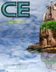 ce magazine April  2019 issue
