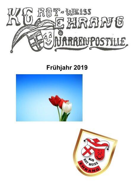 Narrenpost Frühjahr 2019