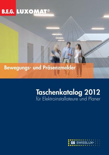 Taschenkatalog 2012 - Swisslux AG