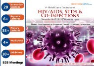 9th Global Experts Conference on HIV/AIDS, STDs and Co-Infections