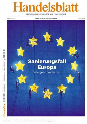 Handelsblatt 12.04.2019