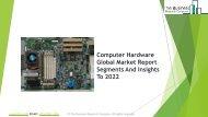 Computer Hardware Global Market Report 2019