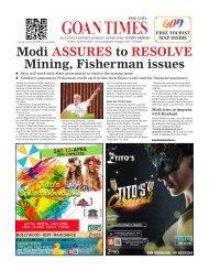 GoanTimes April, 12th 2019 issue