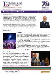 7 - Principal's Letter March 2019 - DSc