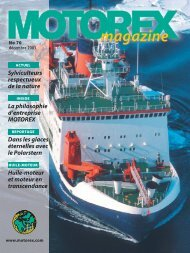 MOTOREX Magazine 2003 70 FR
