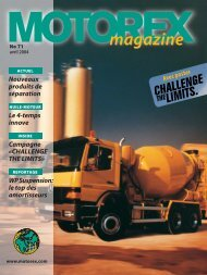MOTOREX Magazine 2004 71 FR