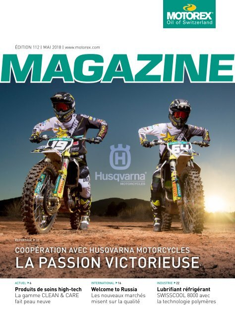 MOTOREX Magazine 2018 112 FR