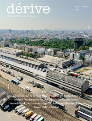 Sampler / dérive - Zeitschrift für Stadtforschung, Heft 75 (2/2019)