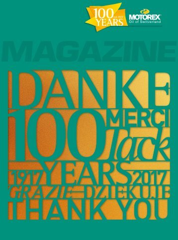 MOTOREX Magazine 2017 110 SE