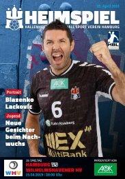 Hallenheft | Handball Sport Verein Hamburg vs. Wilhelmshavener HV
