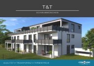 Exposé T & T, Schwabmünchen, Communis Projektbau
