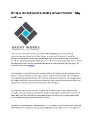 6 Grout Works Dallas