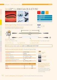 VarioLED™ Flex VENUS Color (B, R; A) TV IP67 - LED Linear